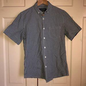 EUC Topman checkered shirt in small